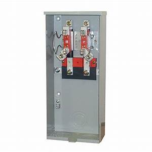 Milbank 200 Amp 4 Terminal Ringless Underground Meter