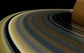 Saturn's rings are only about 100 million years old, meaning they formed long after the first dinosaurs and mammals walked the Earth…