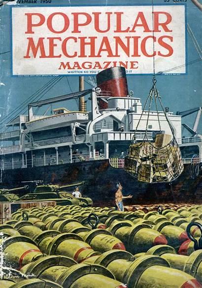 1950 Mechanics Popular Issue Famous Modern Mechanix