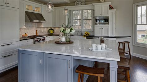 gray tile kitchen classically inspired traditional kitchen design lombard