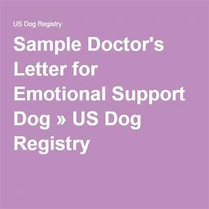 Best of emotional support dog sample letter how to for Psychiatrist letter for emotional support dog