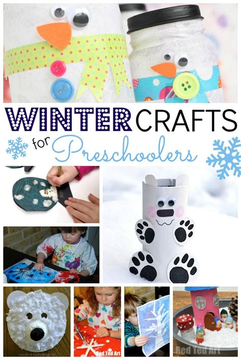 easy winter crafts for preschoolers ted s 871 | Winter Crafts for Preschoolers