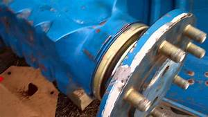 Inside A Ford 6700 Tractor Axle Area After Replacing A Leaky One