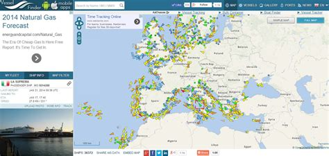 Boat Traffic Finder by Vessel Finder Ship And Container Tracking