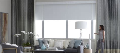 modern roller shades motorized shades and blinds in boston shades in place