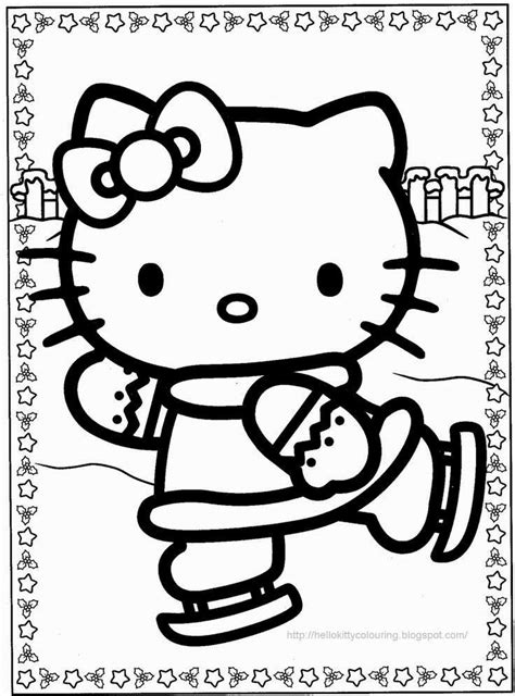 kitty halloween coloring page coloring home