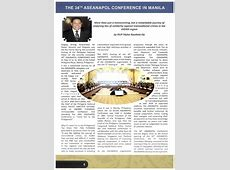 3rd Edition of the ASEANAPOL Bulletin