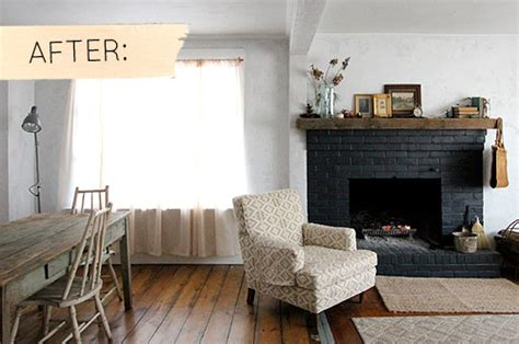 sponge painting brick fireplace before after gorgeous fireplace makeovers design sponge