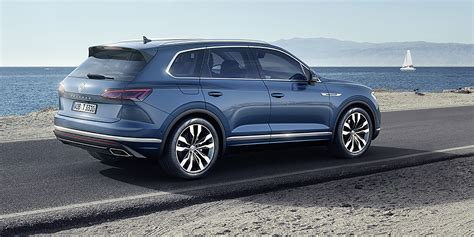 2019 Volkswagen Touareg by 2019 Volkswagen Touareg Revealed Here In Q2 2019 Photos