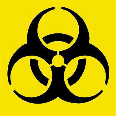 Symbol Biohazard Warning Hazard Biological Iconic