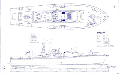 Higgins Pt Boat Blueprints higgins pt boat blueprint plans ww2 torpedo navy