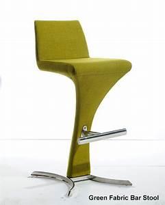 Contemporary Bar Stool In Curvy And Sleek Design 44bra99