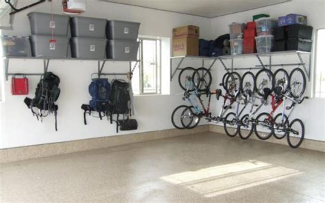 Garage Organization Ideas For Bikes by Garage Organization Archives Simplified Bee