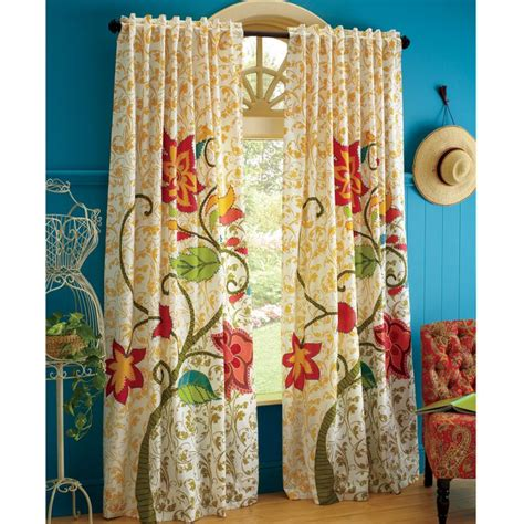vintage floral curtain new bedroom palette