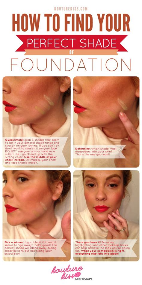 Foundation Makeup Tips Style Guru Fashion Glitz Glamour Style Unplugged