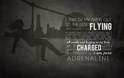 Divergent Quotes Series Quote Four Dauntless Background