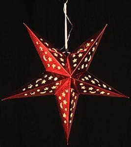 Papierstern Mit Beleuchtung : papierstern mit led beleuchtung adventstern weihnachtsstern leuchtstern 43 cm ebay ~ Watch28wear.com Haus und Dekorationen