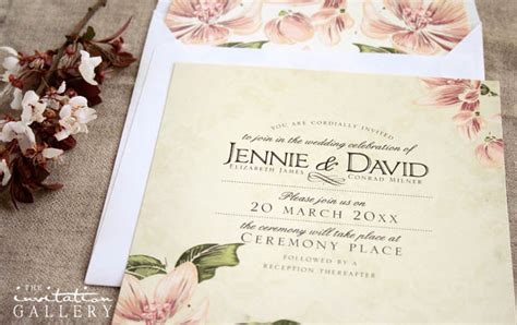 western cape wedding invitations  invitation gallery
