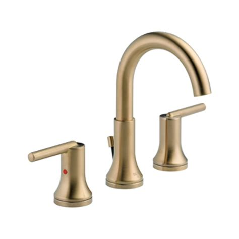 delta trinsic bathroom faucet delta 3559 czmpu dst trinsic 8 quot widespread 2 handle high