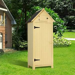 Mcombo, Outdoor, Storage, Cabinet, Tool, Shed, Wooden, Garden, Shed, Organizer, Wooden, Lockers, With, Fir