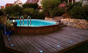 piscine hors sol imitation bois valdiz With piscine hors sol imitation bois