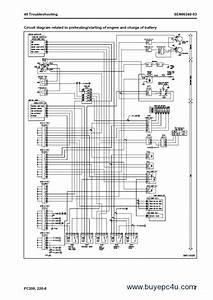 Komatsu Hydraulic Excavator Pc200 Lc