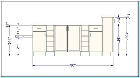 standard kitchen island height standard height of a kitchen island torahenfamilia com