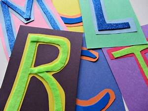 alphabet for starters easy touch and feel alphabet no With construction paper letters