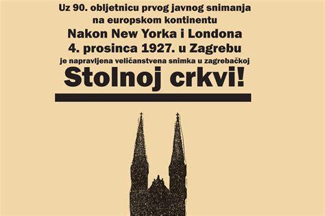 PRVO JAVNO SNIMANJE NA EUROPSKOM KONTINENTU PRIJE 90 ...