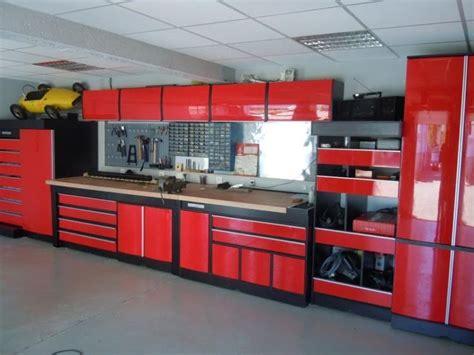 garage loft organization workshop atelier building rouge storage cave tool systems tools plans agencement shed diy ultimate dream ensemble moderne