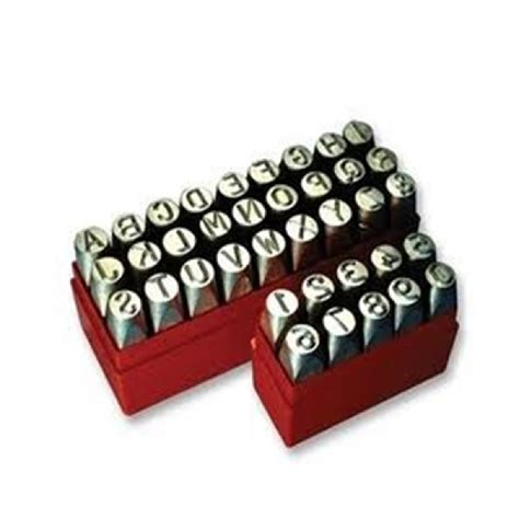 abcd merby set letter punch set punching set abcd letter punch