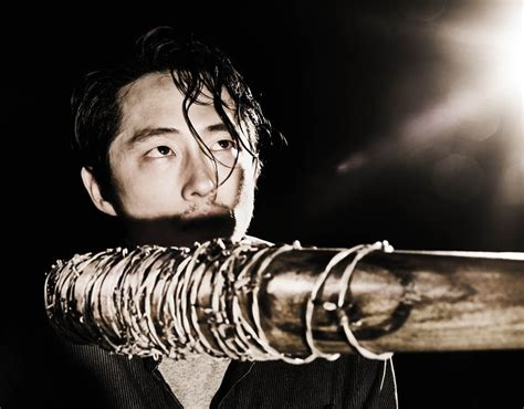 Glenn helped rick grimes safely escape the walkers on the street to meet up with his group. Steven Yeun as Glenn Rhee in the preview photos for season ...