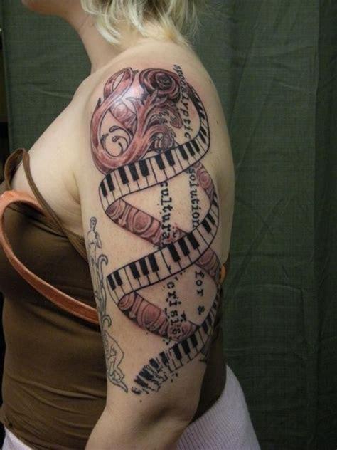 piano tattoos  sleeve