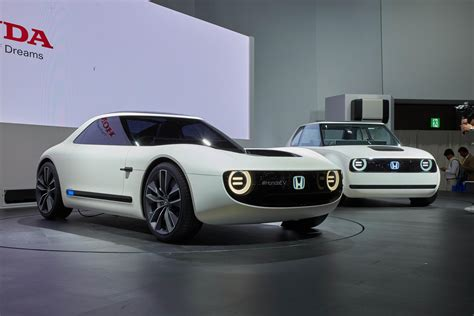 Ev Electric by Honda Sports Ev And Ev Concepts Reveal Future Retro