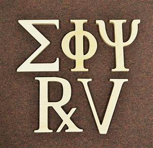 8 inch greek wooden letters unfinished alpha omega delta With 8 unfinished wood letters