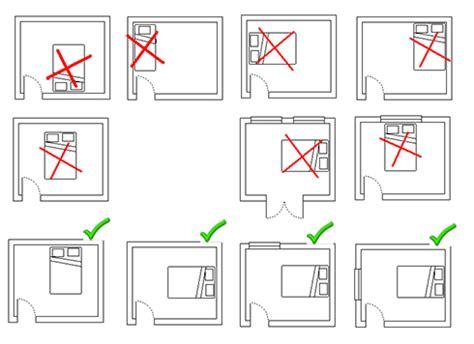 place du lit dans une chambre 5 conseils pour bien dormir avec une chambre feng shui
