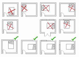 5 conseils pour bien dormir avec une chambre feng shui With plan chambre feng shui