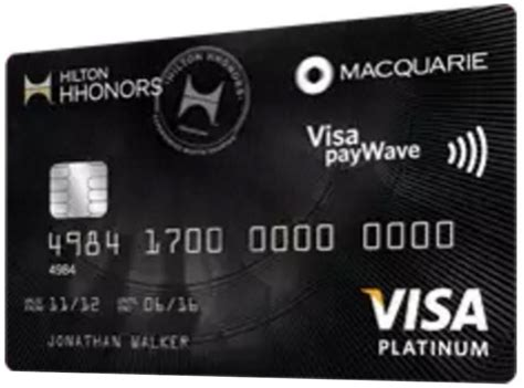 Existing accounts were transitioned in january 2018 to the hilton honors card from american express. Macquarie Honors Visa Card - Point Hacks Review