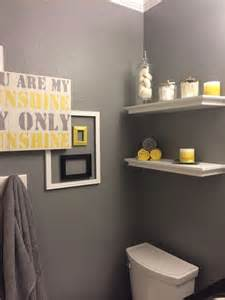 yellow and grey bathroom decorating ideas yellow and grey bathroom ideas for my new home
