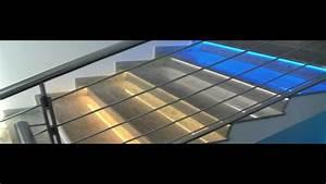 Gradini delle scale illuminate con strisce Led YouTube