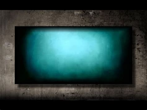 paint  vibrant turquoise background fast  easy