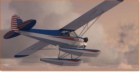 Test De L'addon Piper Cub De A2a Simulations Par Avionic