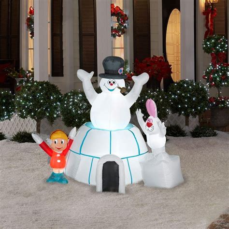 christmas snowman outdoor inflatables christmas wikii