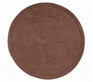 kaloo tapis rond chocolat doudouplanet