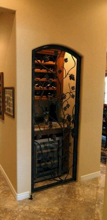 turn a coat closet into a wine cellar my style