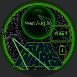 Star Wars Glow  U2013 Watchfaces For Smart Watches