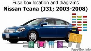 Nissan Altima Fuse Box 2003