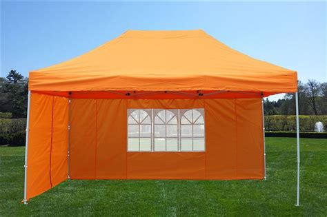 metal canopy 10 x 15 easy pop up tent canopy 5 colors