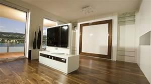 Raumteiler Mit Fernseher : tv m bel drehbar holz ~ Sanjose-hotels-ca.com Haus und Dekorationen