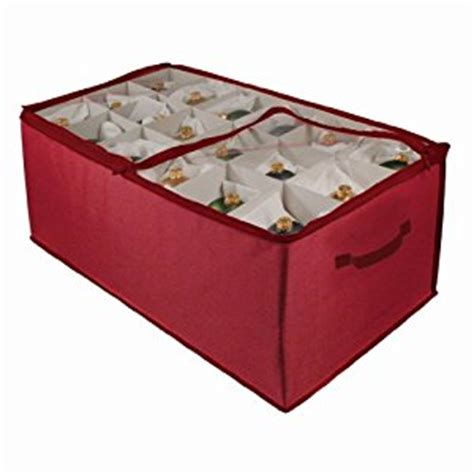 amazon com christmas ornament storage 54 cell holiday